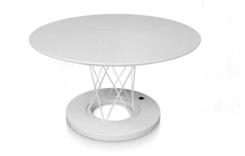 Moderni Klub Sto Alina neobičnog i modernog dizajna, kvalitetan , bijele boje - internet prodaja - Commodo Home & Living