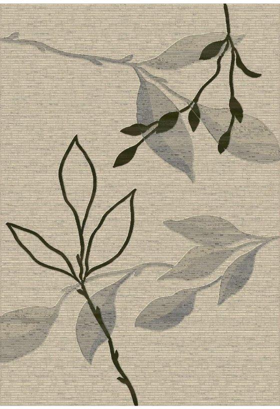 Moderni Tepih Argentum modernog dizajna i čudesnih boja sa biljnim motivima - online shop - Commodo Home & Living