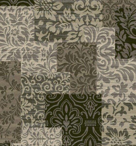 Moderni Tepih Argentum modernog dizajna i čudesnih boja, arabeska - online shop - Commodo Home & Living