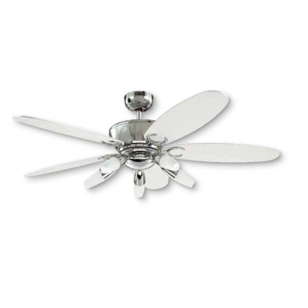 Moderni Luster Ventilator Arius modernog dizajna , kvalitetan bijele boje - online shop - Commodo Home & Living