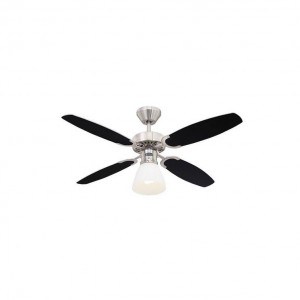 Moderni Luster Ventilator Capitol modernog dizajna , kvalitetan crne boje - online shop - Commodo Home & Living