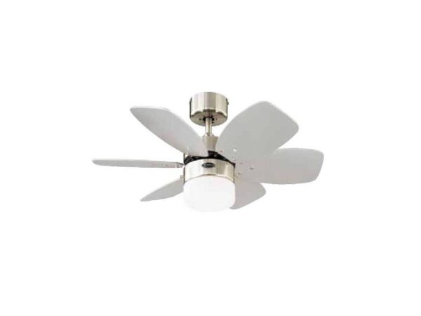 Moderni Luster Ventilator Flora Royal modernog dizajna , kvalitetan bijele boje - online shop - Commodo Home & Living