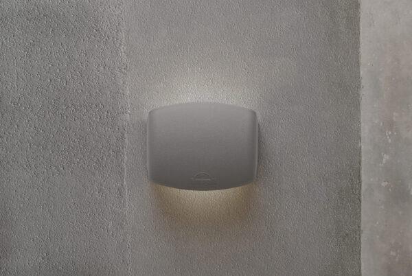 Moderna Nadgradna zidna lampa - ABRAM 150 IP55 klasičnog dizajna, bijele boje - internet prodaja - Commodo Home & Living