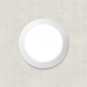 Moderna Plafonjerka - BERTA klasičnog dizajna, bijele boje - internet prodaja - Commodo Home & Living