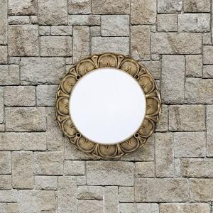 Moderna Plafonjerka - RITA klasičnog dizajna, zlatne boje - internet prodaja - Commodo Home & Living