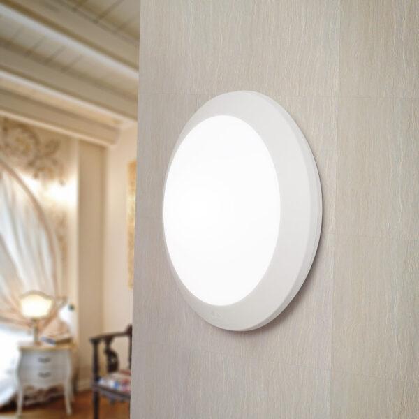 Moderna Plafonjerka - UMBERTA klasičnog dizajna,bijele boje - internet prodaja - Commodo Home & Living