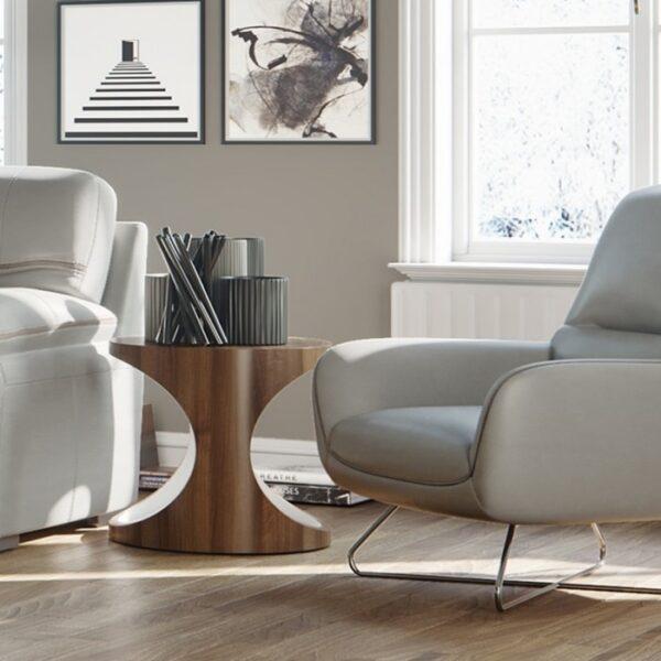 Moderni Klub Sto Poggio neobičnog dizajna, kvalitetan - internet prodaja - Commodo Home & Living