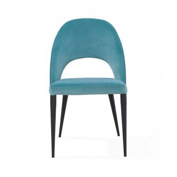 Moderna Trpezarijska Stolica Salgari modernog dizajna, udobna , plave boje - online shop - Commodo Home & Living