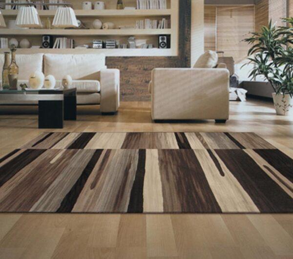 Moderni Tepih Argentum modernog dizajna i čudesnih boja sa geometrijskim motivima - Internet prodaja - Commodo Home & Living