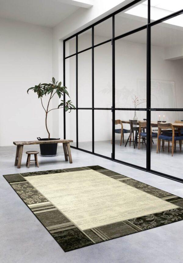 Moderni Tepih Argentum modernog dizajna i čudesnih boja sa geometrijskim i biljnim motivima - online shop - Commodo Home & Living