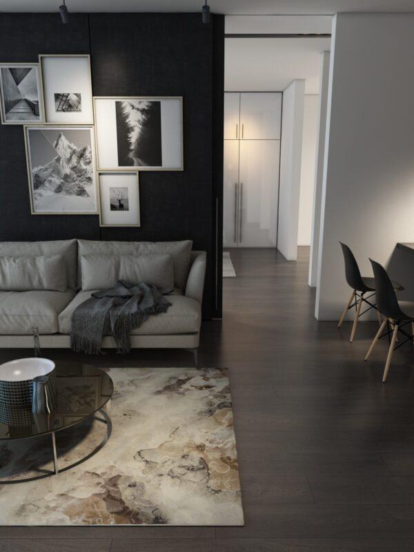 Moderni Tepih - Argentum modernog dizajna,neobičnih dezena i čudesnih boja - online shop - Commodo Home & Living
