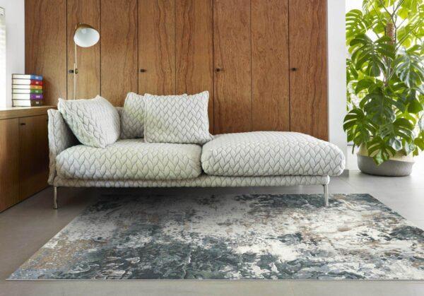 Moderni Tepih - Argentum modernog dizajna,neobičnog dezena i čudesnih boja - online shop - Commodo Home & Living