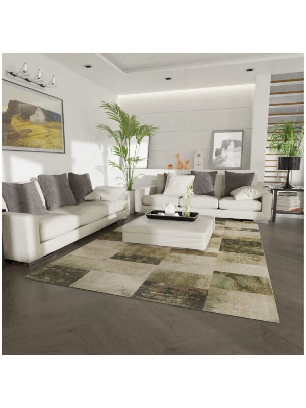Moderni Tepih - Argentum modernog dizajna i čudesnih boja sa geometrijskim motivima - online shop - Commodo Home & Living