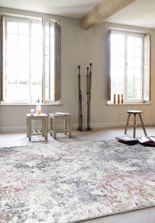 Moderni Tepih Argentum modernog dizajna,neobičnog dezena i čudesnih boja - online shop - Commodo Home & Living