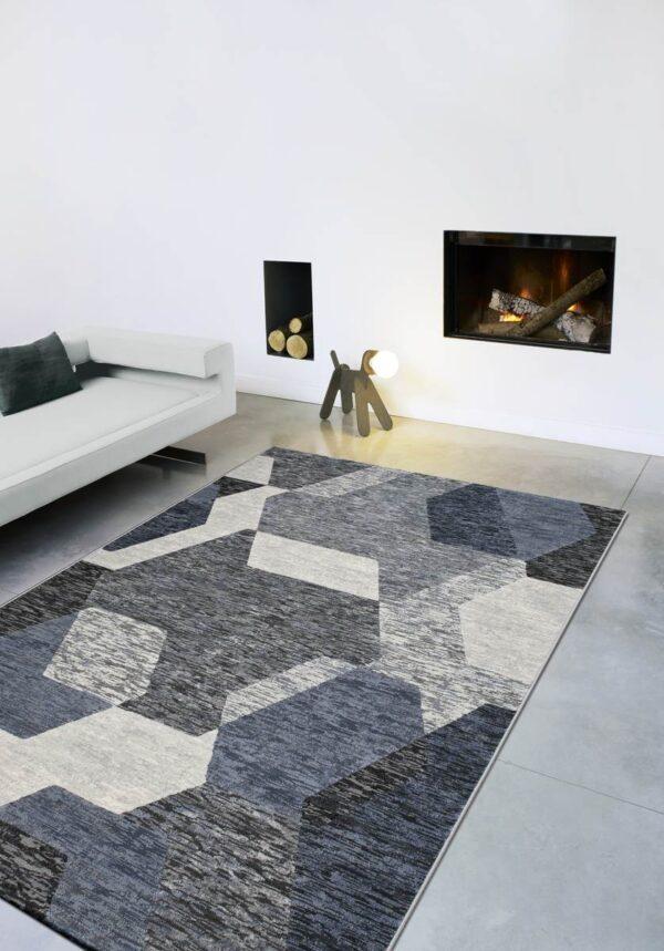 Moderni Tepih - Argentum modernog dizajna,neobičnih ukrasa i čudesnih boja - online shop - Commodo Home & Living