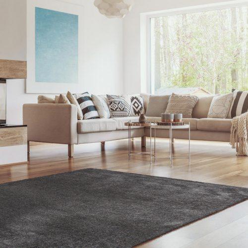 Moderni Tepih Dolce Vita,mekani,sive boje - Internet prodaja- Commodo Home & Living
