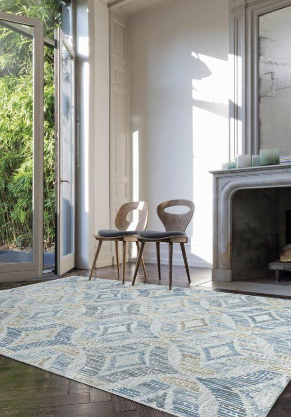 Moderni Tepih Genova elegantan,jedinstven sa reljefnim dezenom - internet prodaja - Commodo Home & Living