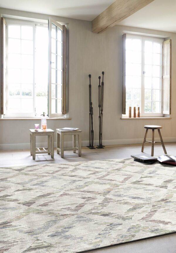 Moderni Tepih Matrix elegantan i klasičan sa geometrijskim motivima -Internet prodaja - Commodo Home & Living