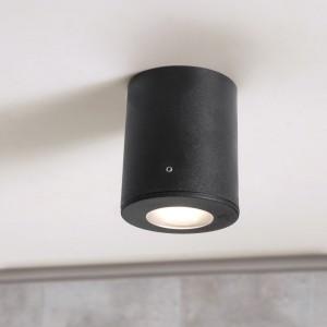 Moderna Spoljna plafonska lampa - FRANCA klasičnog dizajna, crne boje - internet prodaja - Commodo Home & Living