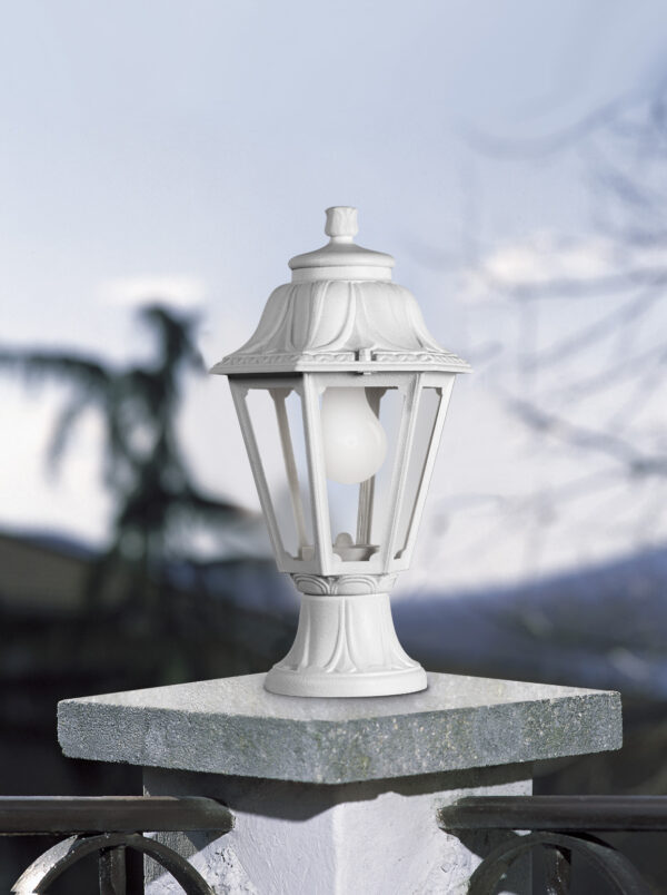 Moderna Spoljna podna lampa - ANNA-MIZAR klasičnog dizajna, bijele boje - internet prodaja - Commodo Home & Living