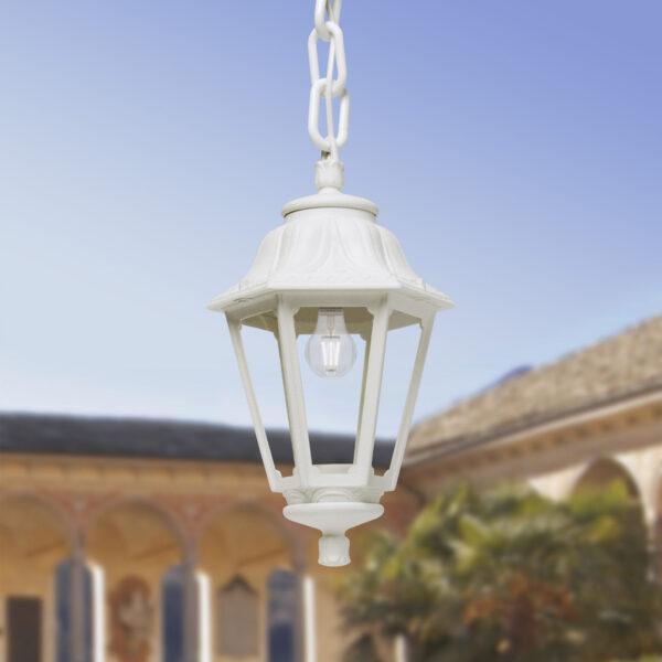 Moderna Spoljna viseća lampa - ANNA-SICHEM klasičnog dizajna, bijele boje - internet prodaja - Commodo Home & Living