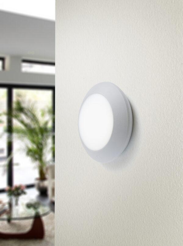 Moderna Spoljna zidna lampa - BERTINA klasičnog dizajna, sive boje - internet prodaja - Commodo Home & Living