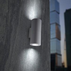 Moderna Spoljna zidna lampa - FRANCA klasičnog dizajna, sive boje - internet prodaja - Commodo Home & Living