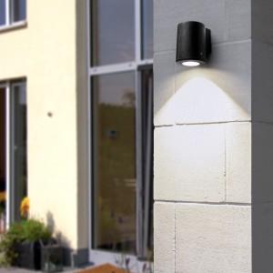 Moderna Spoljna zidna lampa - FRANCA klasičnog dizajna, crne boje - internet prodaja - Commodo Home & Living