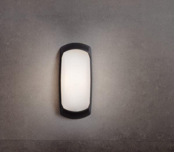 Moderna Spoljna zidna lampa - FRANC-OP klasičnog dizajna, crne boje - internet prodaja - Commodo Home & Living
