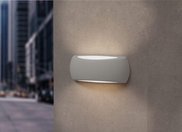 Moderna Spoljna zidna lampa - FRANCY-OP klasičnog dizajna, sive boje - internet prodaja - Commodo Home & Living