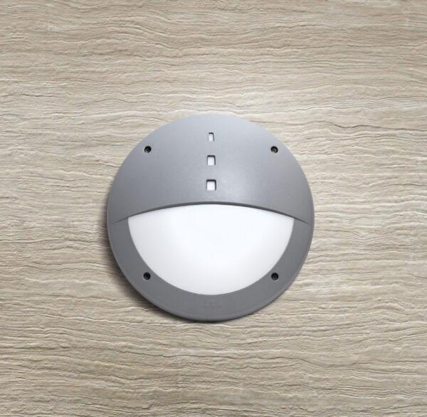 Moderna Spoljna zidna lampa - GELMI EL klasičnog dizajna, sive boje - internet prodaja - Commodo Home & Living