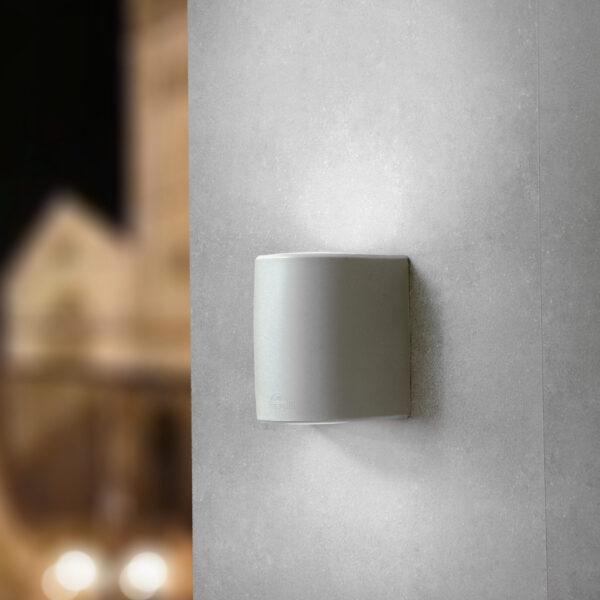 Moderna Spoljna zidna lampa - MARTA 160 2L Grey FR klasičnog dizajna, sive boje - internet prodaja - Commodo Home & Living