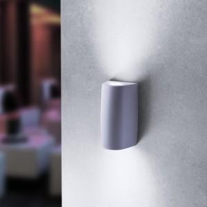 Moderna Spoljna zidna lampa - MARTA 90 2L klasičnog dizajna, sive boje - internet prodaja - Commodo Home & Living
