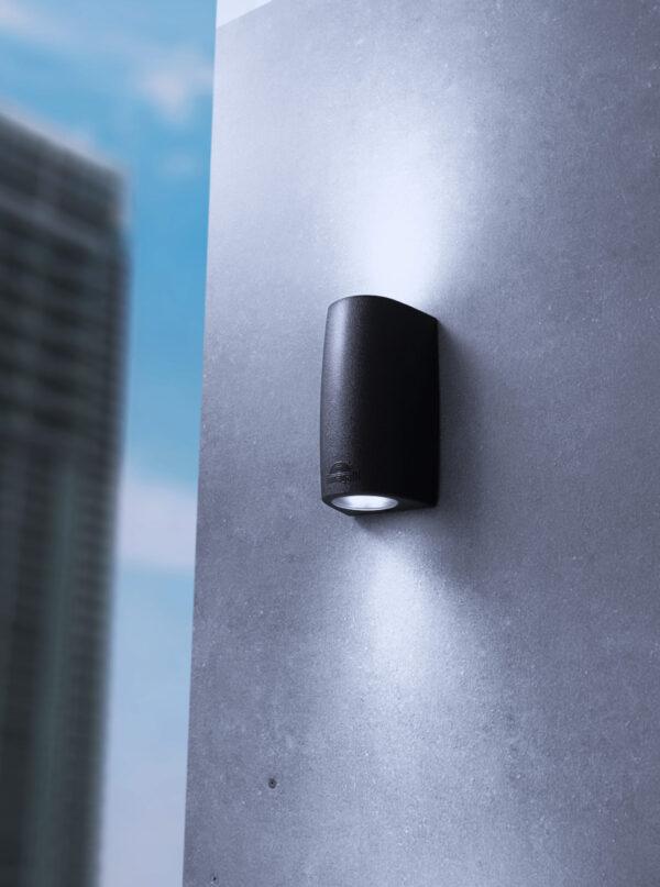 Moderna Spoljna zidna lampa - MARTA 90 2L klasičnog dizajna, crne boje - internet prodaja - Commodo Home & Living