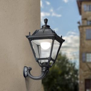 Moderna Spoljna zidna lampa - OFIR TOBIA klasičnog dizajna, crne boje - internet prodaja - Commodo Home & Living