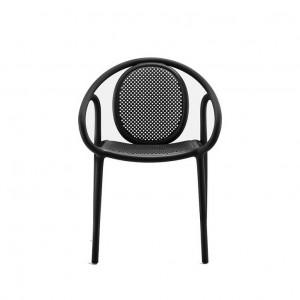 Moderna Stolica Remind klasičnog dizajna, udobna, crne boje - internet prodaja - Commodo Home & Living
