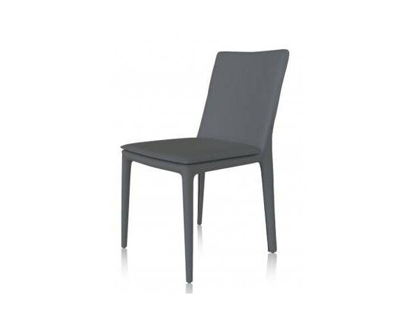 Moderna Trpezarijska Stolica Torano klasičnog dizajna, udobna, tamno sive boje - online shop - Commodo Home & Living