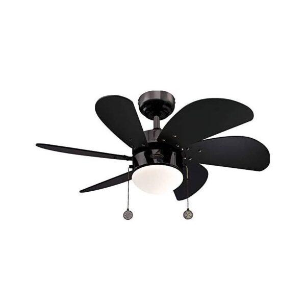 Moderni Luster Ventilator Industrial-espresso modernog dizajna , kvalitetan crne boje - online shop - Commodo Home & Living