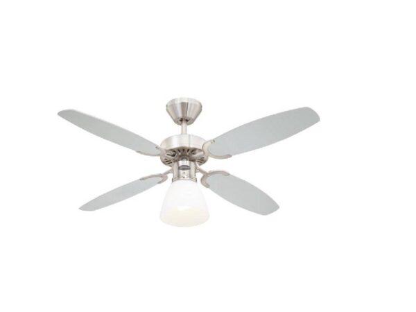 Moderni Luster Ventilator Turbo Swirl modernog dizajna , kvalitetan bijele boje - online shop - Commodo Home & Living