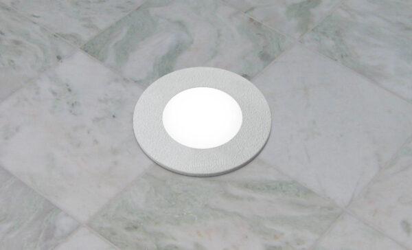 Moderna Ugradna spoljna podna lampa - CECI klasičnog dizajna, bijele boje - internet prodaja - Commodo Home & Living