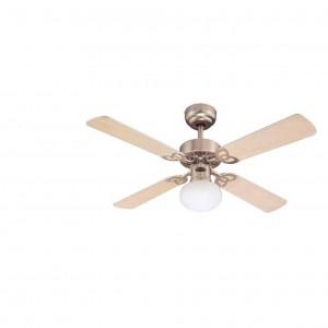 Moderni Luster Ventilator Vegas modernog dizajna , kvalitetan lješnik boje - online shop - Commodo Home & Living