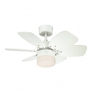Moderni Luster Ventilator-Flora-Royal modernog dizajna , kavalitetan bijele boje - online shop - Commodo Home & Living