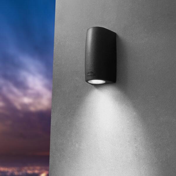 Moderna Spoljna zidna lampa - MARTA 90 2L klasičnog dizajna, cne boje - internet prodaja - Commodo Home & Living