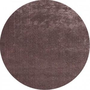 Moderni Tepih Dolce Vita krug ,mekani,bordo boje - Internet prodaja - Commodo Home & Living