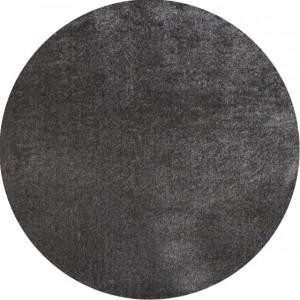 Moderni Tepih Dolce Vita krug ,mekani,tamno sive boje - Internet prodaja - Commodo Home & Living