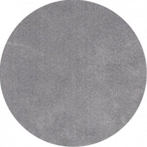 Moderni Tepih Dolce Vita krug ,mekani,sive boje - Internet prodaja - Commodo Home & Living