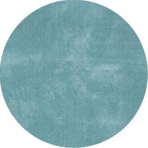 Moderni Tepih Dolce Vita krug ,mekani,plave boje - Internet prodaja - Commodo Home & Living