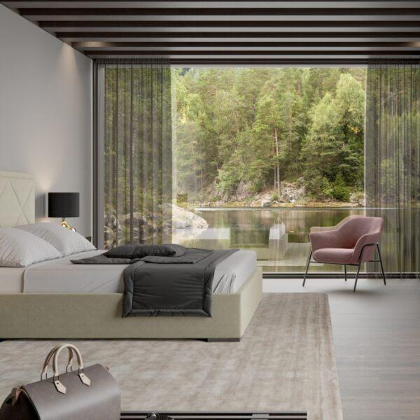 Moderna Stolica Salerno Leisure modernog dizajna, kvalitetna i udobna , roze boje - internet prodaja - Commodo Home & Living