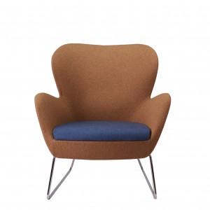 Moderna Stolica Sixty modernog dizajna , udona , braon boje - online shop - Commodo Home & Living