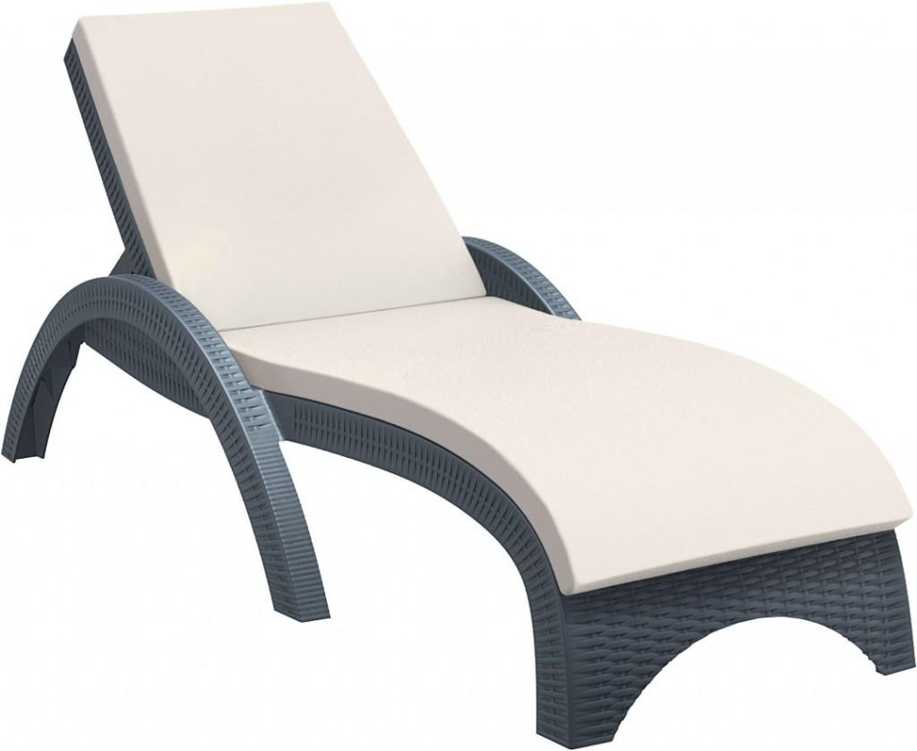 Moderna Ležaljka Pacific jednostavnog dizajna,udobna , crne boje - online shop - Commodo Home & Living